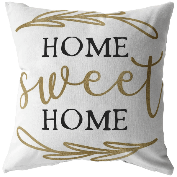 home decor throw pillow accent pillows home sweet home housewarming birthday gift