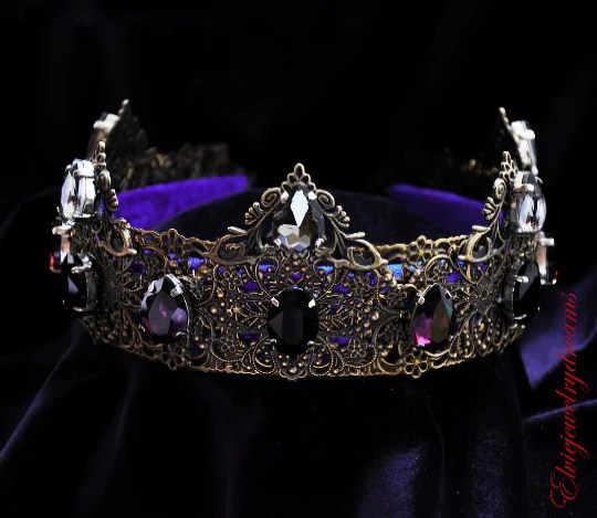 Princes Renaissance Purple Costume Crown