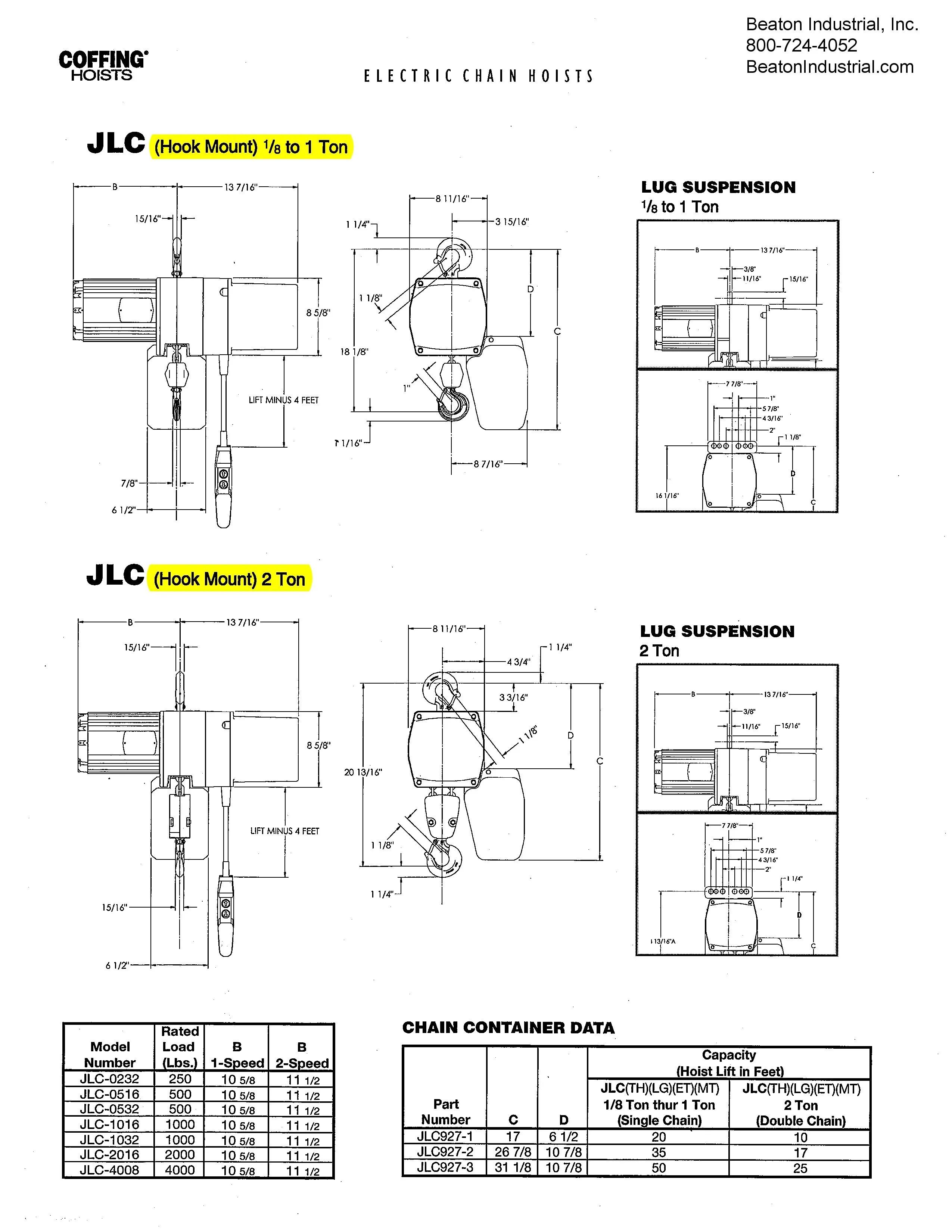 Demag Dc Chain Hoist Diagram - Wiring Diagram