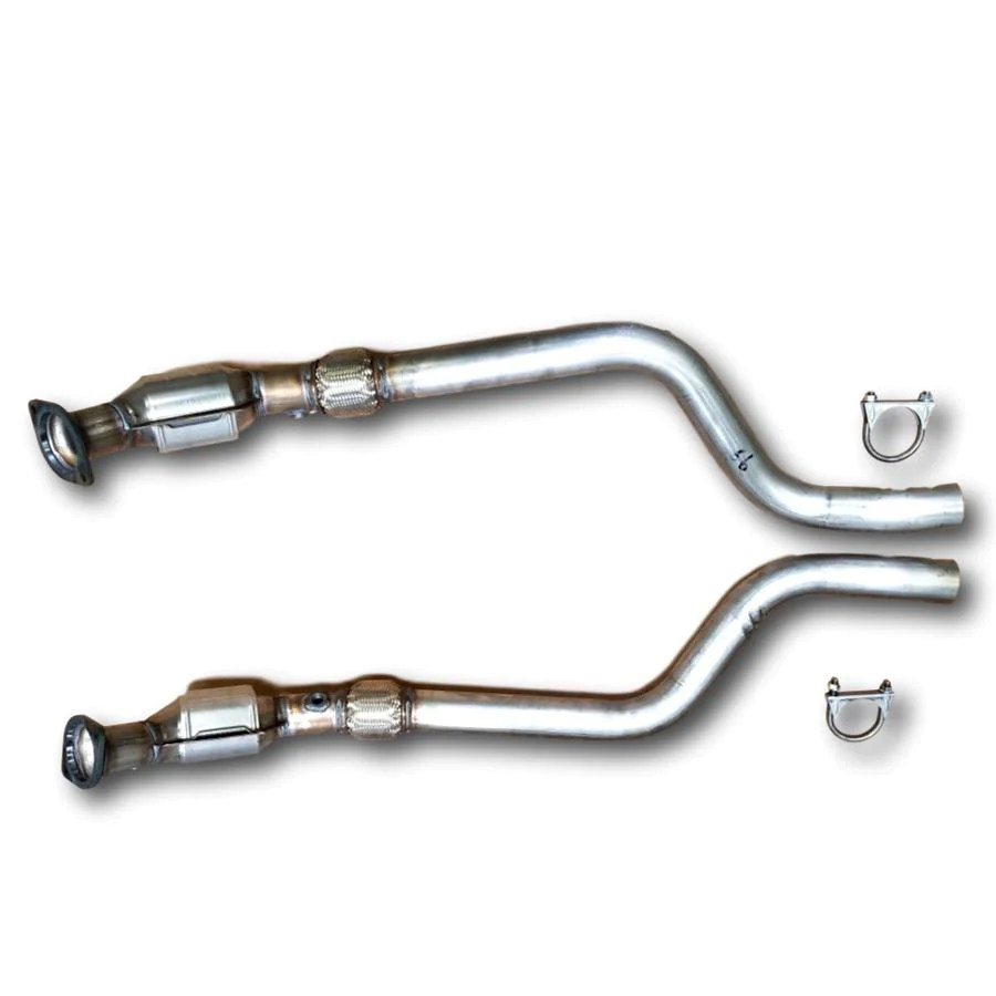 dodge charger 2006 2007 bank 1 2 catalytic converter 5 7l rwd pair