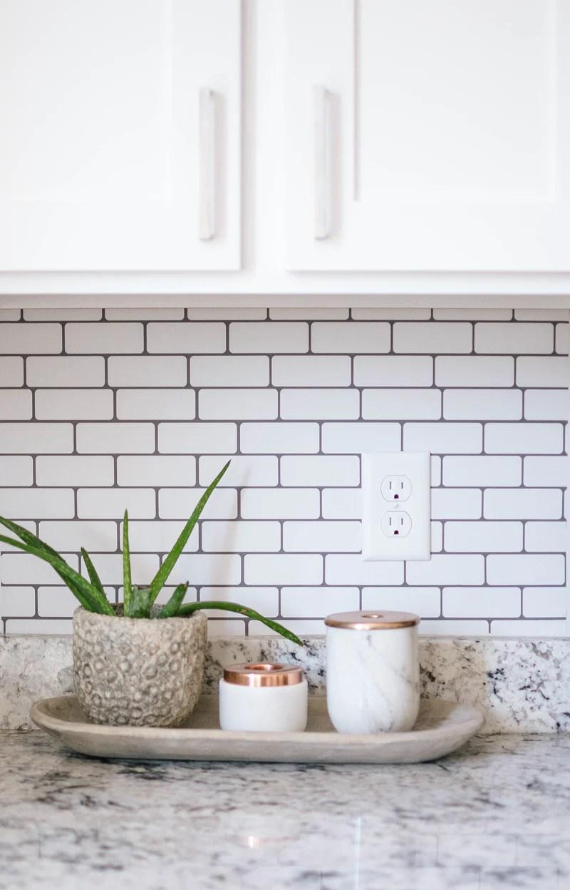 Small Subway Tile Backsplash Loomwell Home Goods