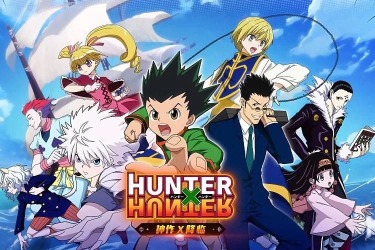 hunter x hunter 6 7 anime poster