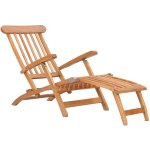 Teak Wood Titanic Outdoor Reclining Steamer Chair By Chic Teak Only 595 63