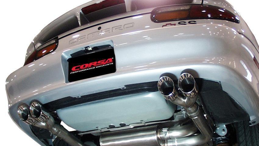 1998 2002 camaro ss z28 twin exhaust