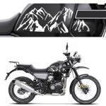 Royal Enfield Himalayan Tank Mountain Design Premium Vinyl Decal Elegant Auto Retail India S Largest Ecosystem Of Car Bike Accessories Online