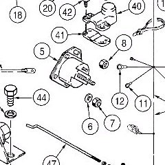 Astec and Case TF300 B Electrical Diagram – astec parts online