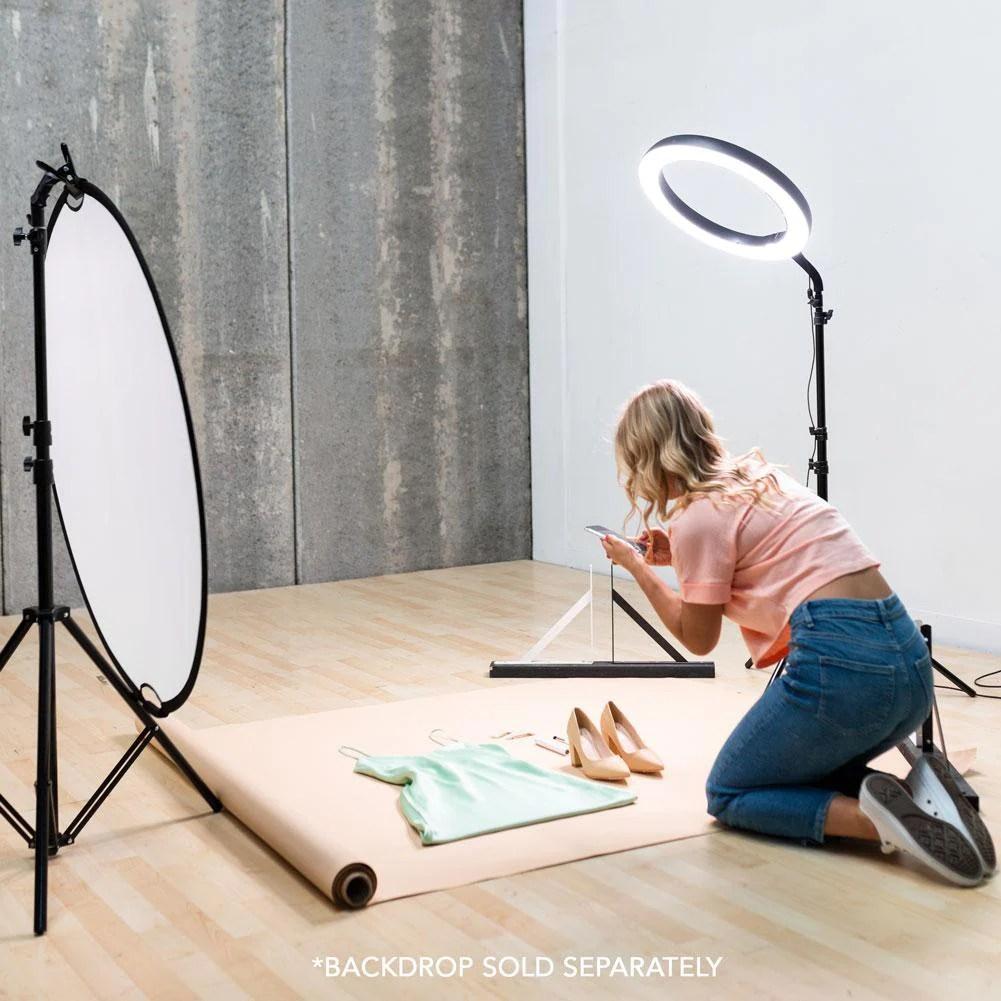 flat lay product photography lighting kit