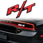 1 Piece Rt R T Badge Emblem Sticker For Mopar Hemi Cars Dodge Charger Xotic Tech