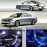 2001 2003 6 X Led Full Interior Lights Package Kit For Acura Cl Ty Xotic Tech