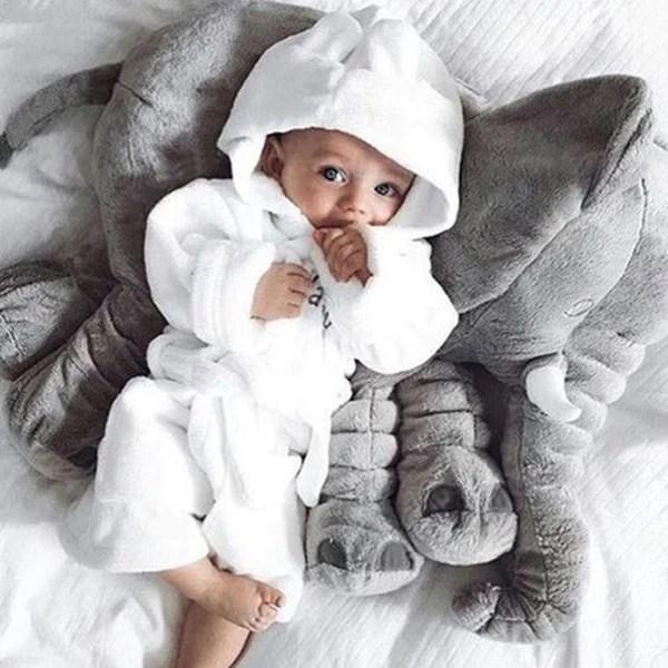 baby elephant pillow