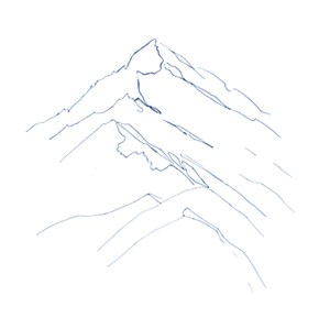 How To Draw Mountains Arteza