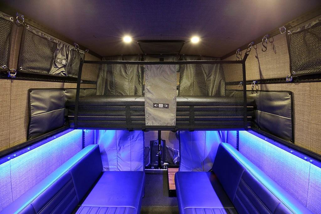 07 Sprinter Van 45 Quot Panel Bed Cargo Net Rb Components