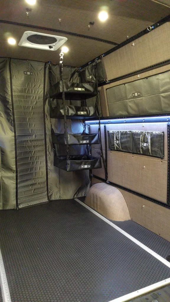 2007 Sprinter Van Fabric 75 Quot H Adjustable Hanging Shelf