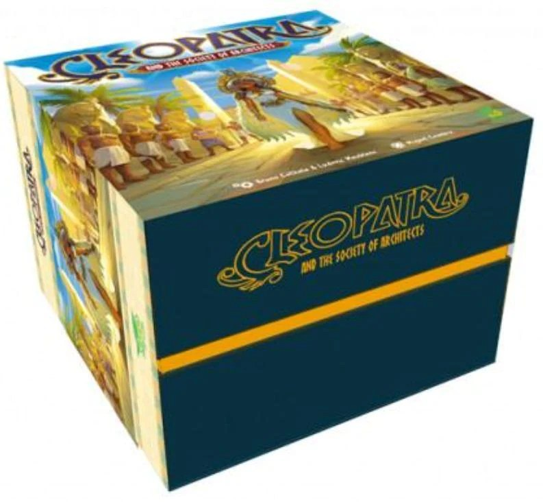 Cleopatra and the Society of Architects Board Game, The Game Steward  Kickstarter Edition Shop