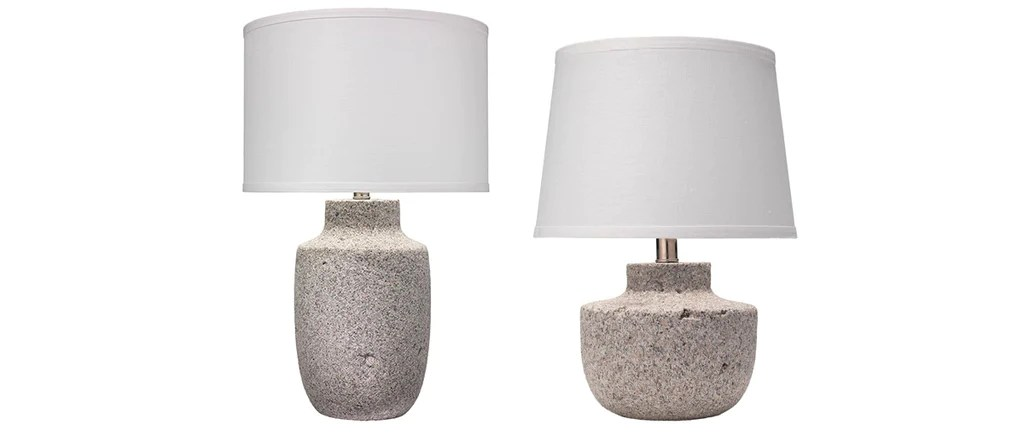 Gravel Table Lamps