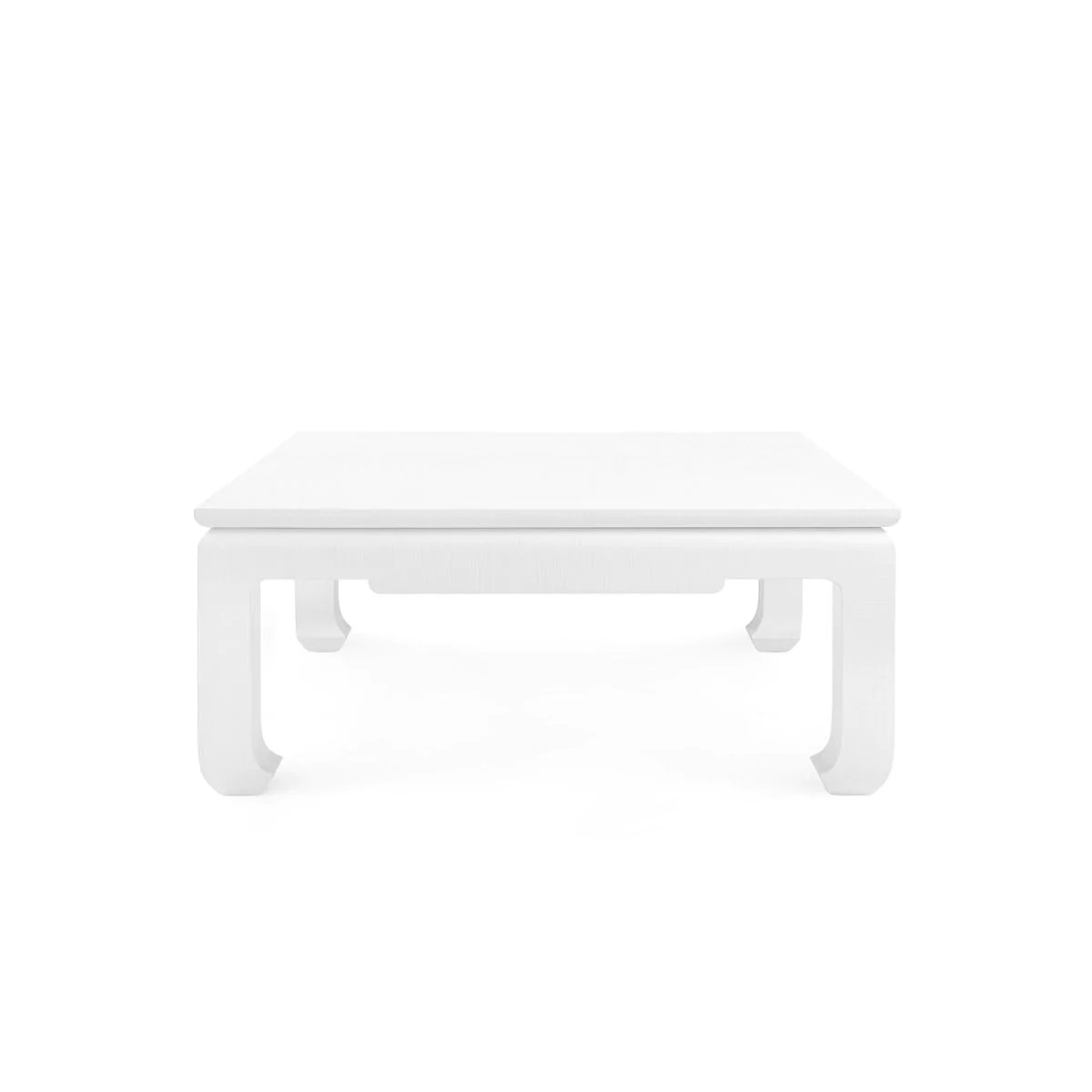 bungalow 5 bethany large square coffee table white