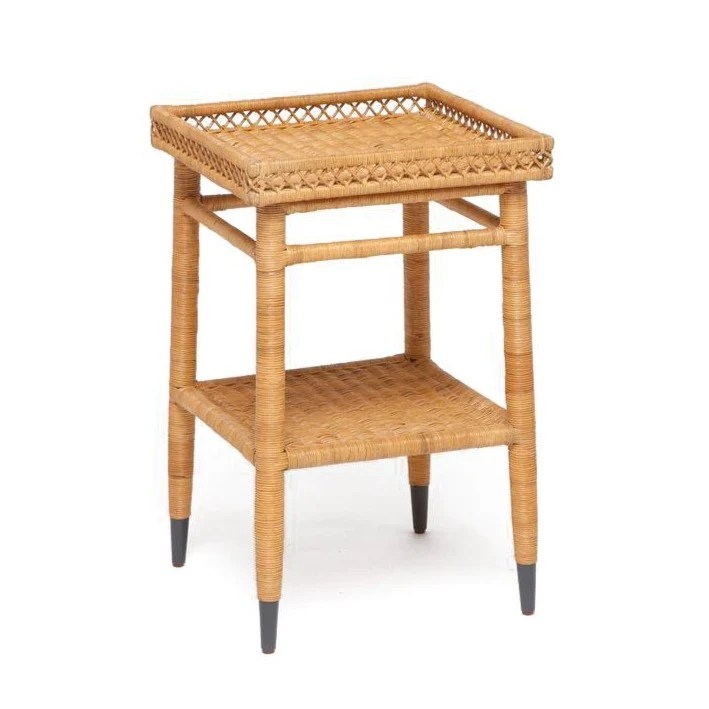 sarah single nightstand woven rattan