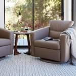 Linus Swivel Glider Chair Dania Furniture