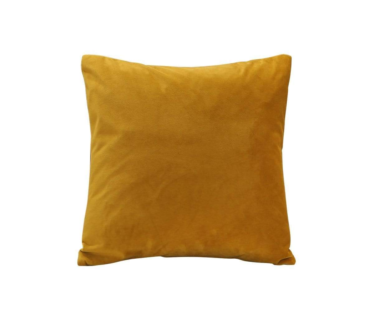 joei velvet pillow mustard