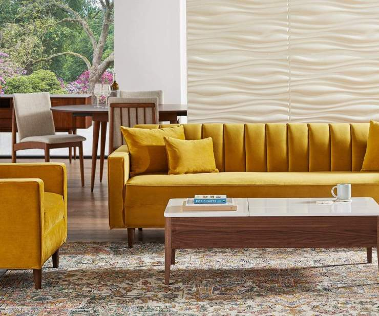Delphine Sofa Royale Dijon - Scandinavian Designs