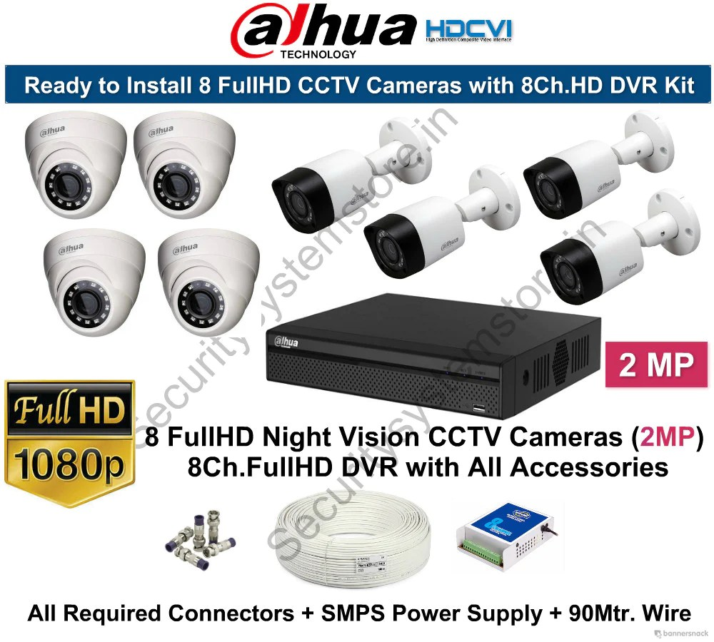 Security Cameras And Dvr Systems