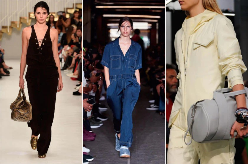 Jumpsuits fashion trend spring summer 2018