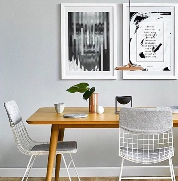 Metal Wire Chair White Hkliving Usa