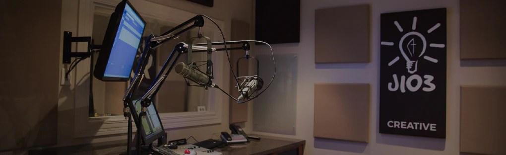 podcast studio acoustics
