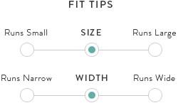 Oka-B Shoes size chart