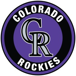 Colorado Rockies Circle Logo Vinyl Decal / Sticker 5 sizes!! | Sportz For Less