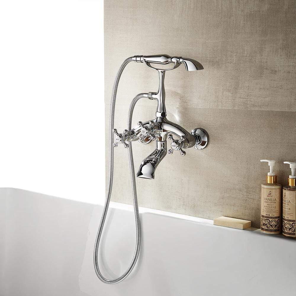 moyle adjustable center wall mount tub faucet