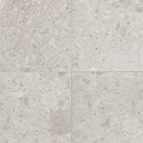 bedrosians tile stone frammenta 24 x 24 floor wall tile white