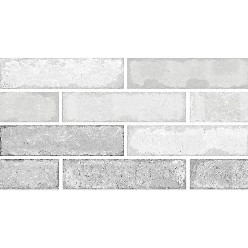 crossville studios bricklane 3 in x 12 in porcelain tile white