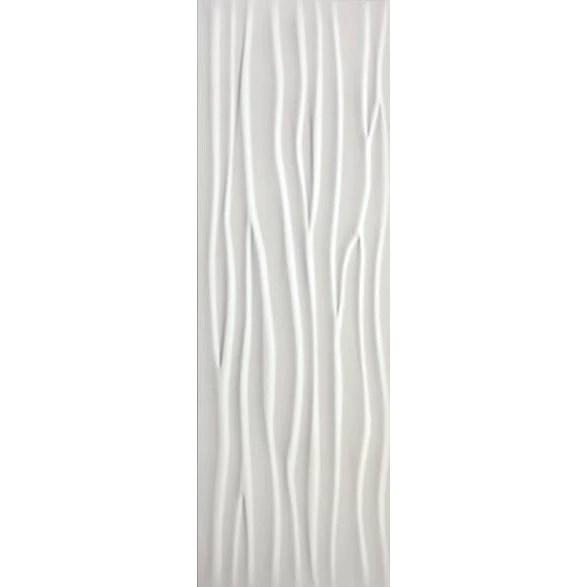 happy floors glaciar wave porcelain wall tile wave matte