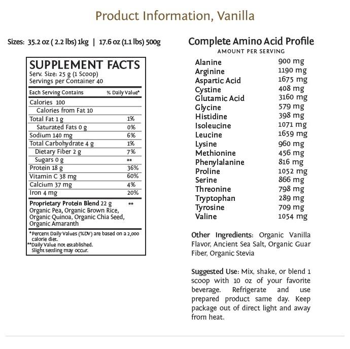 Sunwarrior Plus protein vanilla