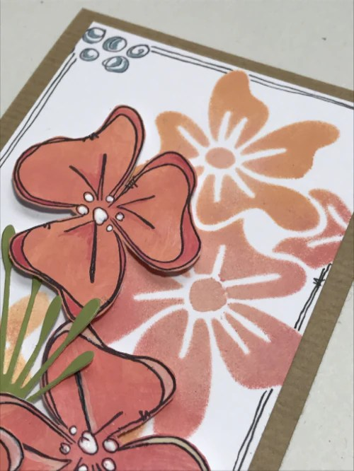 PaperArtsy JOFY MINI 59 Rubber Cling Mounted Stamp Set