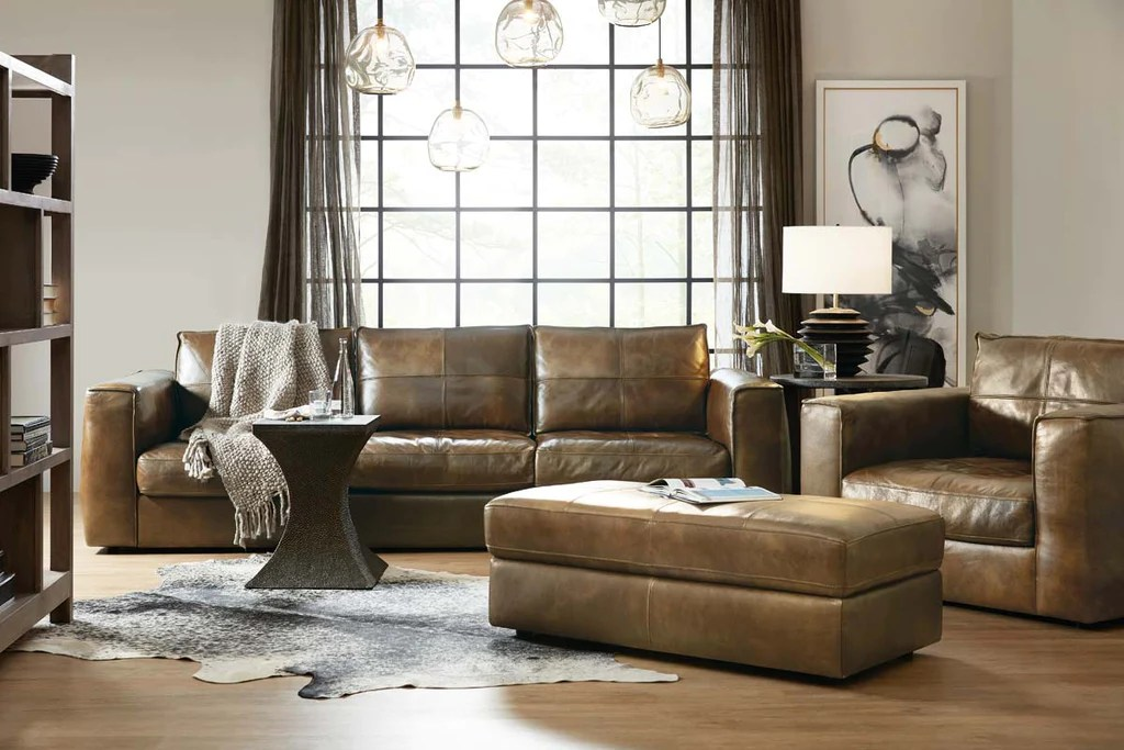 nico taupe quick ship 72 inch long oversized storage top grain leather pillow top ottoman