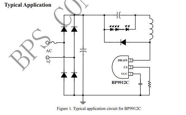 BP9912C--circuit-design
