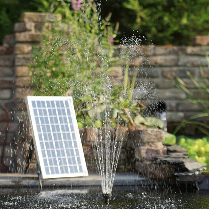 https www pondshopi com products solarmax 2500 pompe fontaine de bassin dc18v 0 9a panneau solaire qmaxl h 2 480 35w hmaxm 2 10 volcan cloche deau et jet moussant raccords tuyaux 19 25 mm