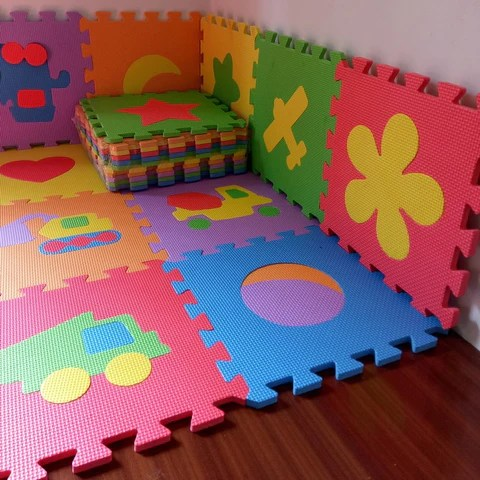 tapis puzzle en mousse pour bebe 10pcs