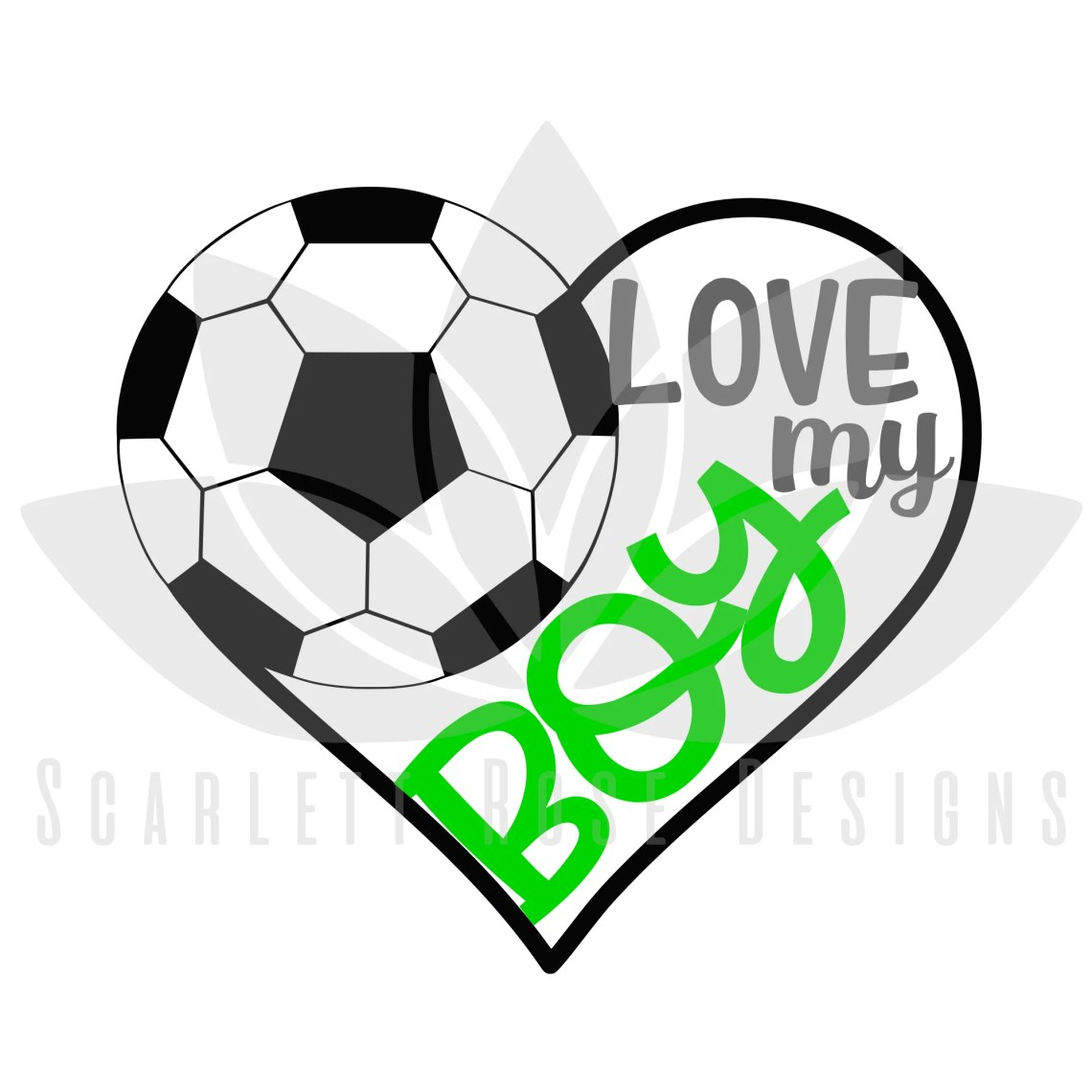 Download Soccer Sports SVG cut file, Love my Boy Soccer Heart ...