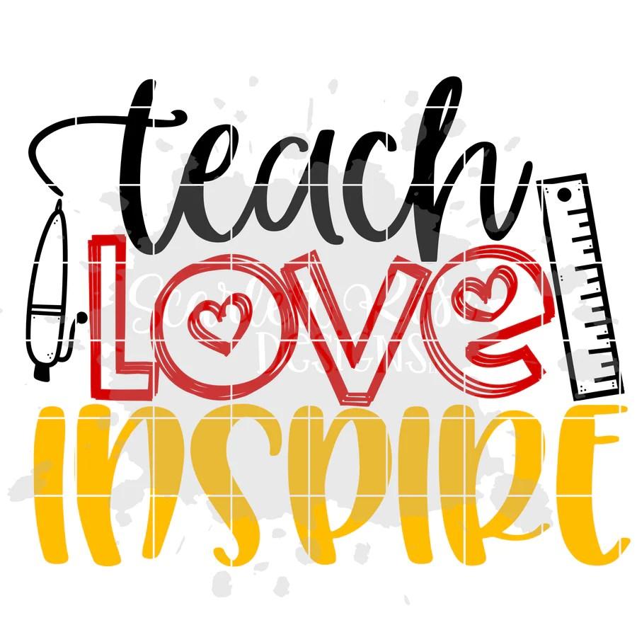 Download School - Teacher Designs SVG cut file - Scarlett Rose Designs