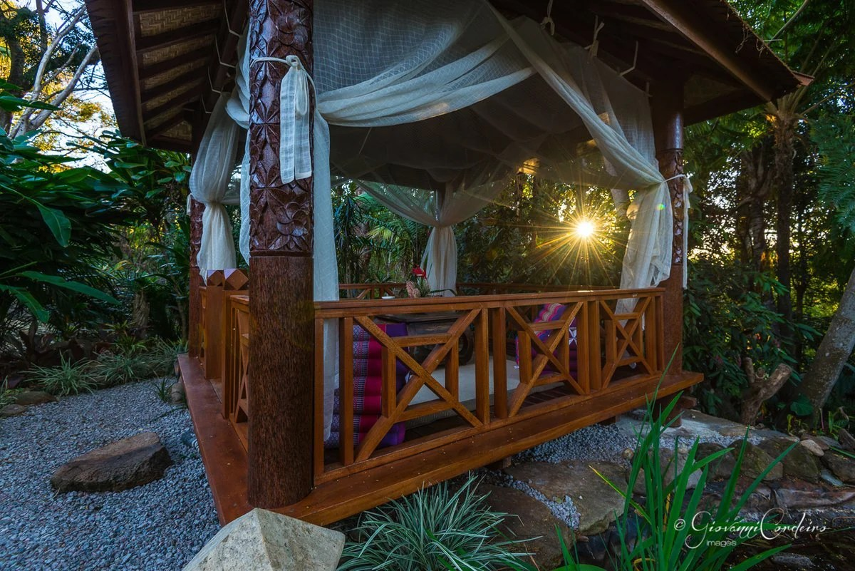 Original Coconut Wood Bali Hut Gazebo Imported From Bali