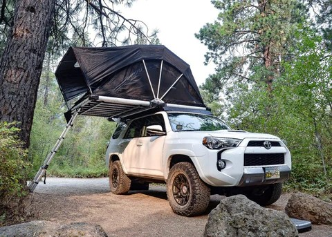 roof top tents for your toyota 4runner