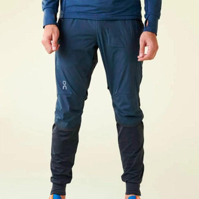 On Running Pants Men's Running Apparel Navy/Black