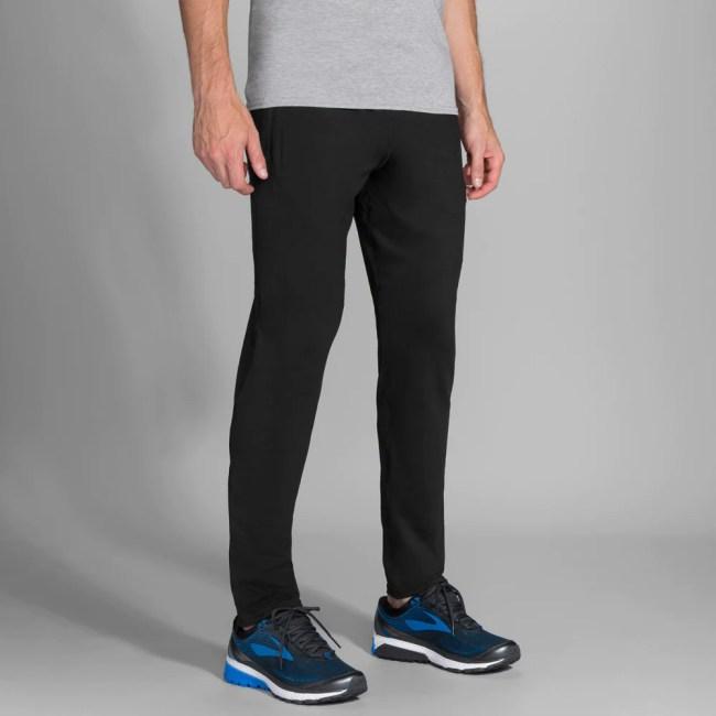 Brooks Spartan Pant Men's Running Apparel Black