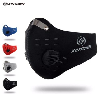 Gym Accessories     Gym Fit Approved XINTOWN Men Women Activated Carbon Dust proof Winter Face Mask    Anti Pollution