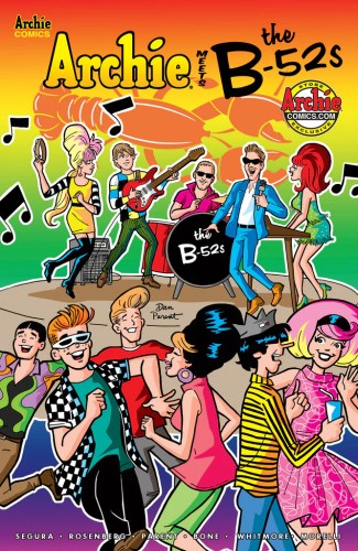Archie Meets the B-52s #1 (One-Shot) – Archie Comics