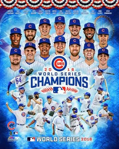 chicago cubs 2016 world series champions 14 stars premium poster print photofile inc