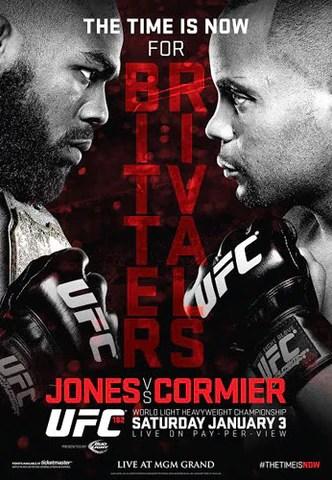 ufc 182 official event poster jon jones vs daniel cormier las vegas 1 3 2015